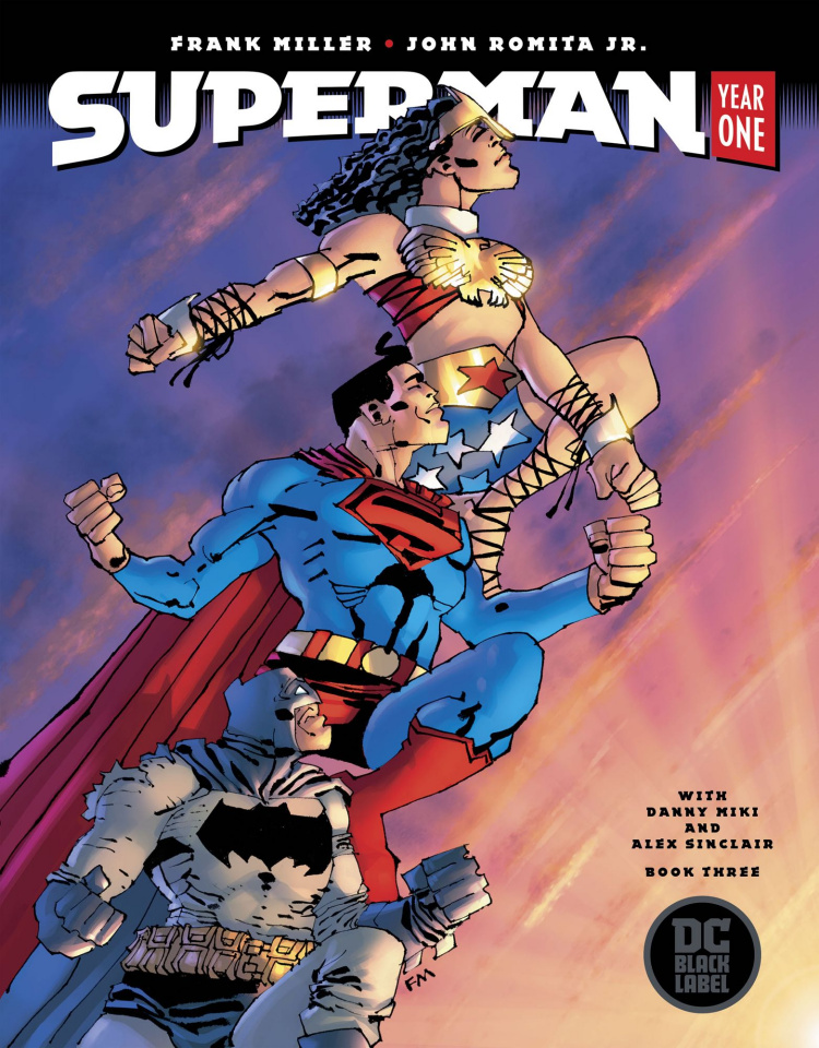 Superman: Year One #3 (Miller Cover)