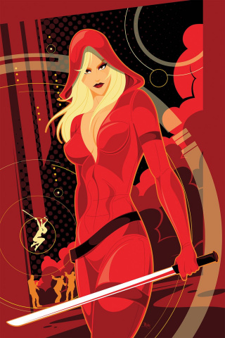 Grimm Fairy Tales: Red Agent - The Human Order #4 (Mahle Cover)