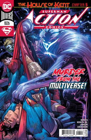 Action Comics #1026 (John Romita Jr & Klaus Janson Cover)