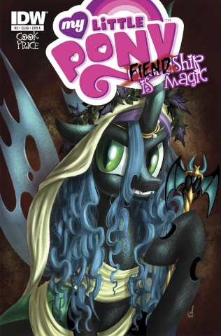 My Little Pony: Fiendship Is Magic #5 (Queen Chrysalis Cover)