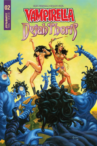 Vampirella / Dejah Thoris #2 (Jusko Cover)