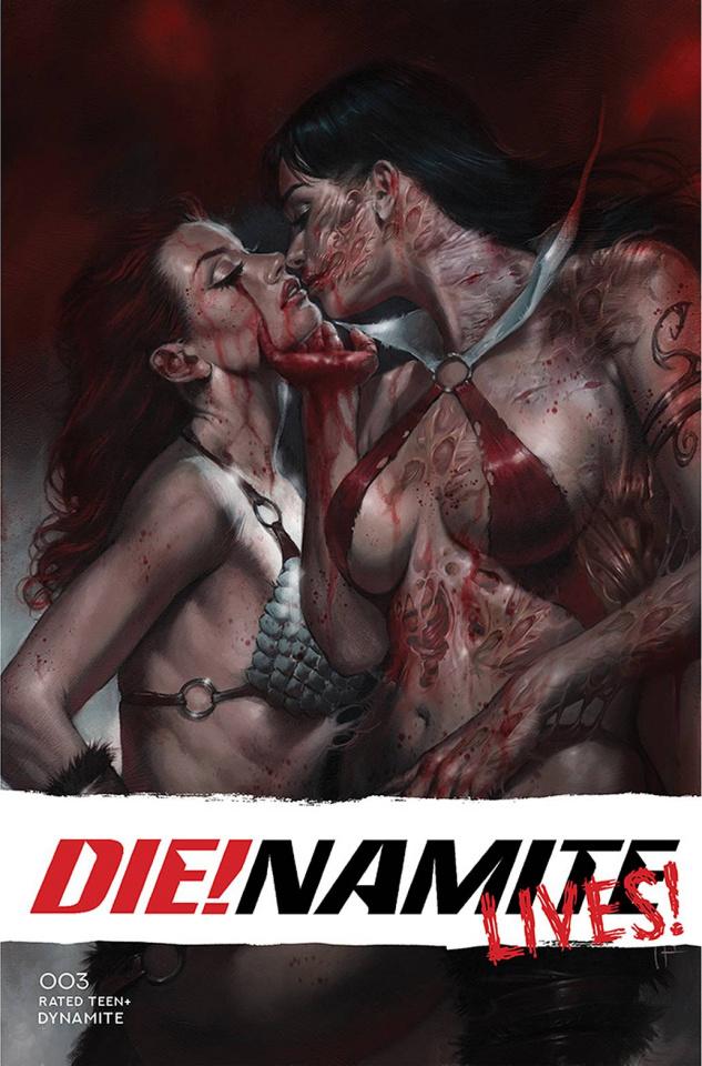 DIE!namite Lives! #3 (Parrillo Cover)