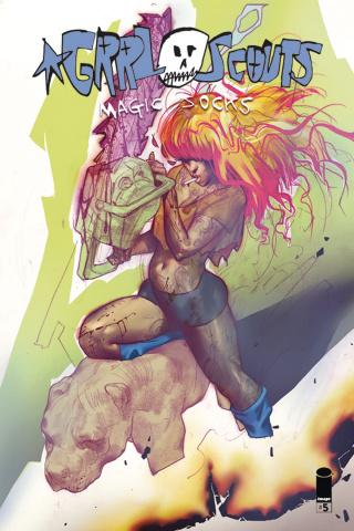 Grrl Scouts: Magic Socks #5 (Ivanova Cover)