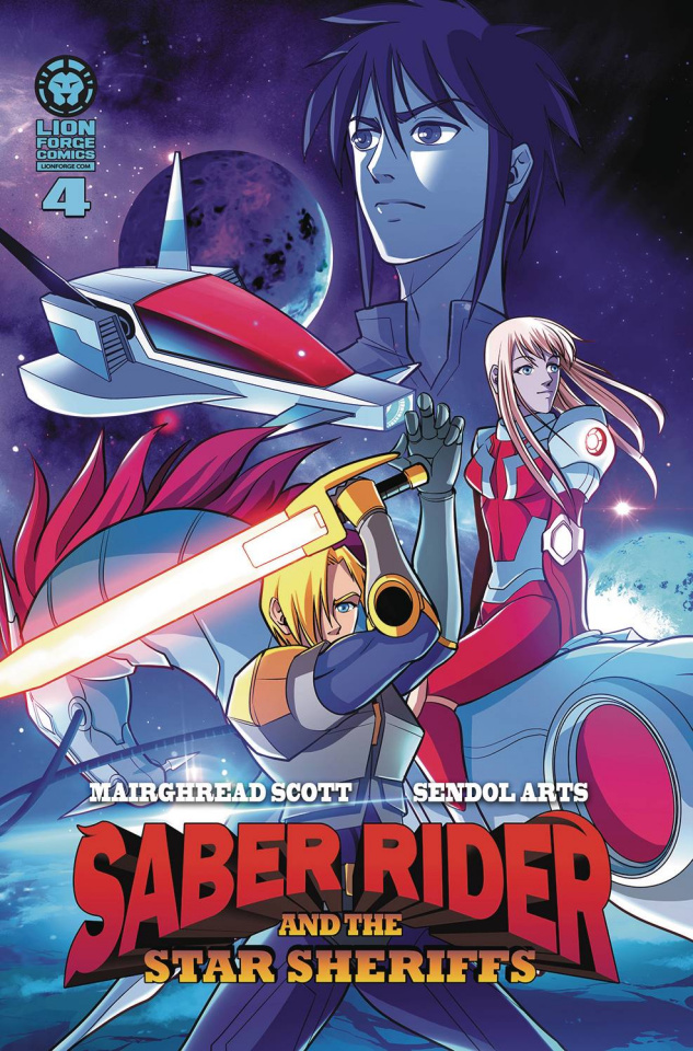 Saber Rider and The Star Sheriffs #4