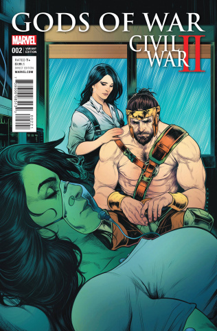Civil War II: Gods of War #2 (Torque Cover)
