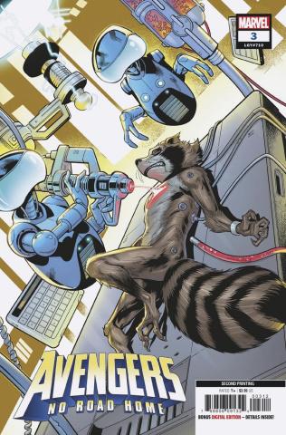 Avengers: No Road Home #3 (Medina 2nd Printing)