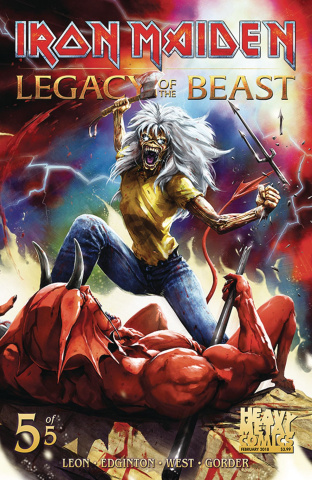 Iron Maiden: Legacy of the Beast #5 (Casas Cover)