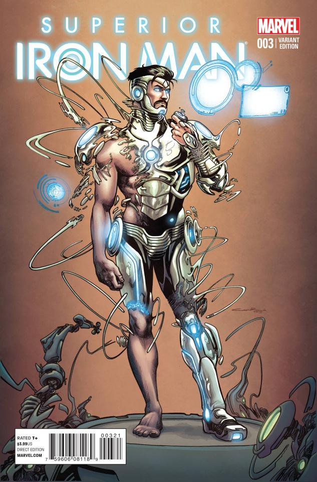 Superior Iron Man #3 (Cinar Cover)