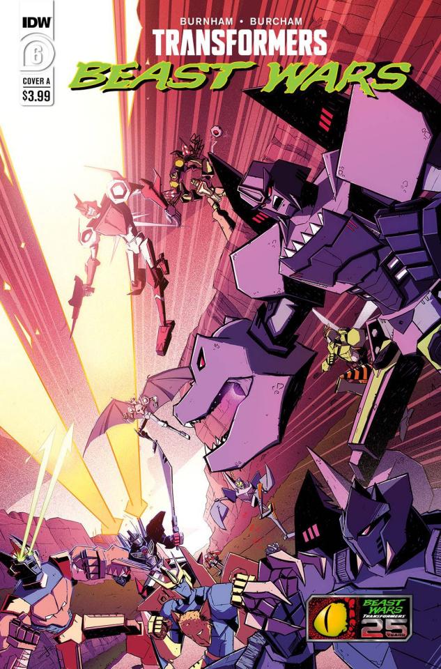 Transformers: Beast Wars #6 (Josh Burcham Cover)
