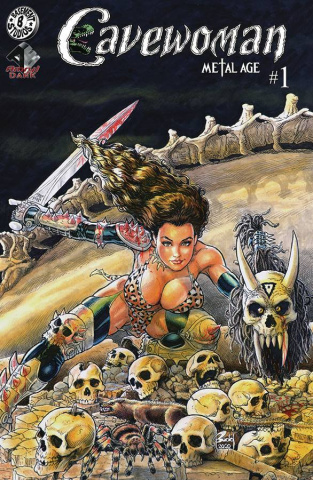 Cavewoman: Metal Age #1 (Budd Root Cover)