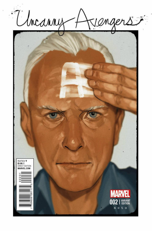 Uncanny Avengers #2 (Noto Cover)