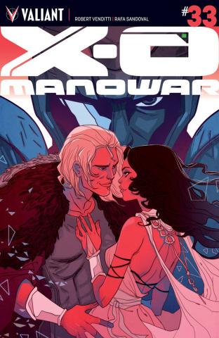 X-O Manowar #33 (Sauvage Cover)