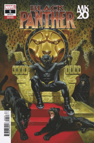 Black Panther #5 (Jusko MKXX Cover)