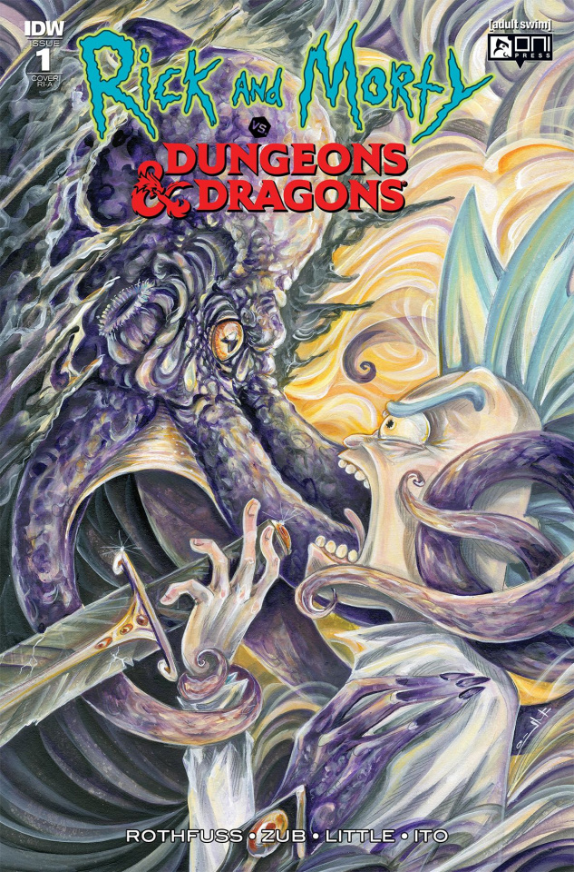 Rick and Morty vs. Dungeons & Dragons #1 (10 Copy Cover)
