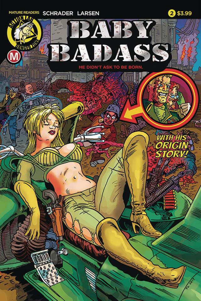 Baby Badass #2 (Larsen Cover)