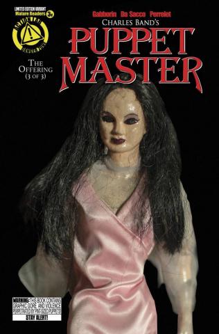 Puppet Master #3 (Leech Woman Photo Cover)
