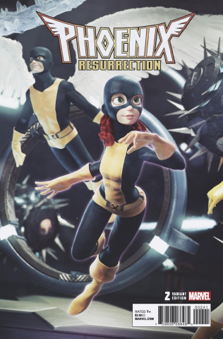 Phoenix Resurrection: The Return of Jean Grey #2 (Hugo Connect Cover)
