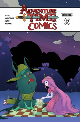 Adventure Time Comics #12 (Subscription Lovas Cover)