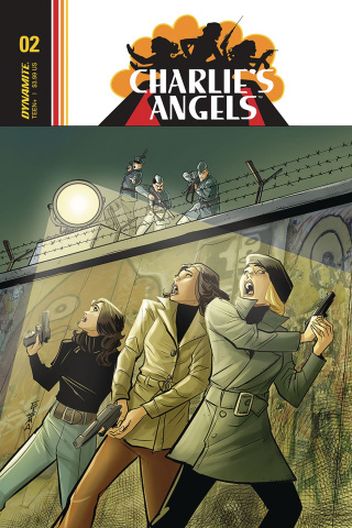 Charlie's Angels #3 (Eisma Cover)