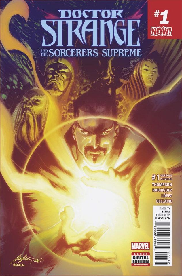 Doctor Strange and the Sorcerers Supreme #1 (2nd Printing Albuquerque)