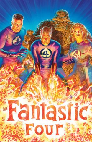 Fantastic Four #1 (Alex Ross Virgin Cover)