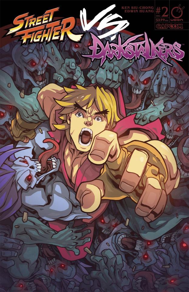 Street Fighter vs. Darkstalkers #2 (Huang Cover)