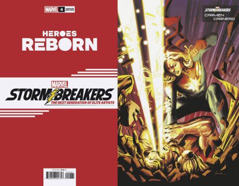 Heroes Reborn #4 (Carnero Stormbreakers Cover)