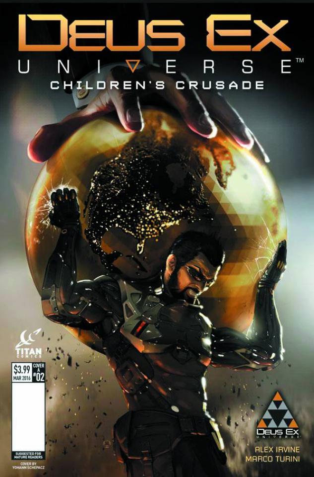 Deus Ex #2 (Chassagne Cover)