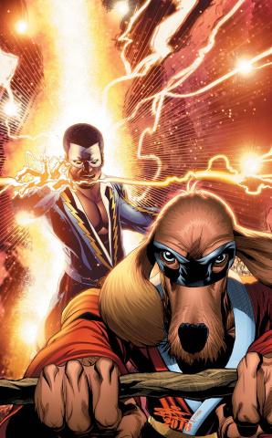 Black Lightning / Hong Kong Phooey Special #1 (Variant Cover)