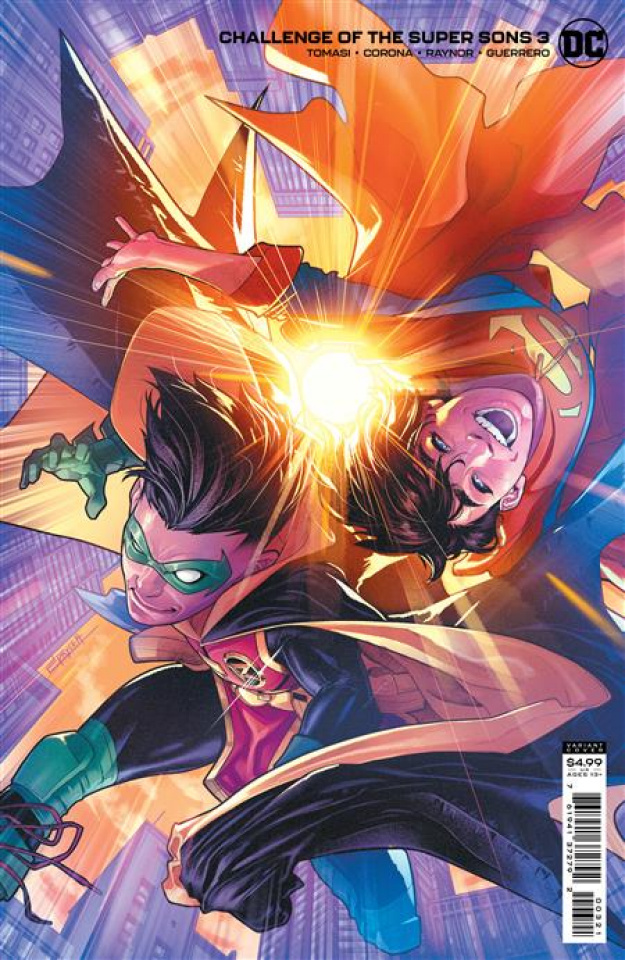 Challenge of the Super Sons #3 (Jamal Campbell Card Stock Cover)