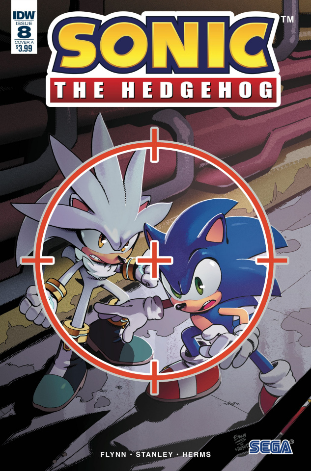 Sonic the Hedgehog #8 (Stanley Cover)