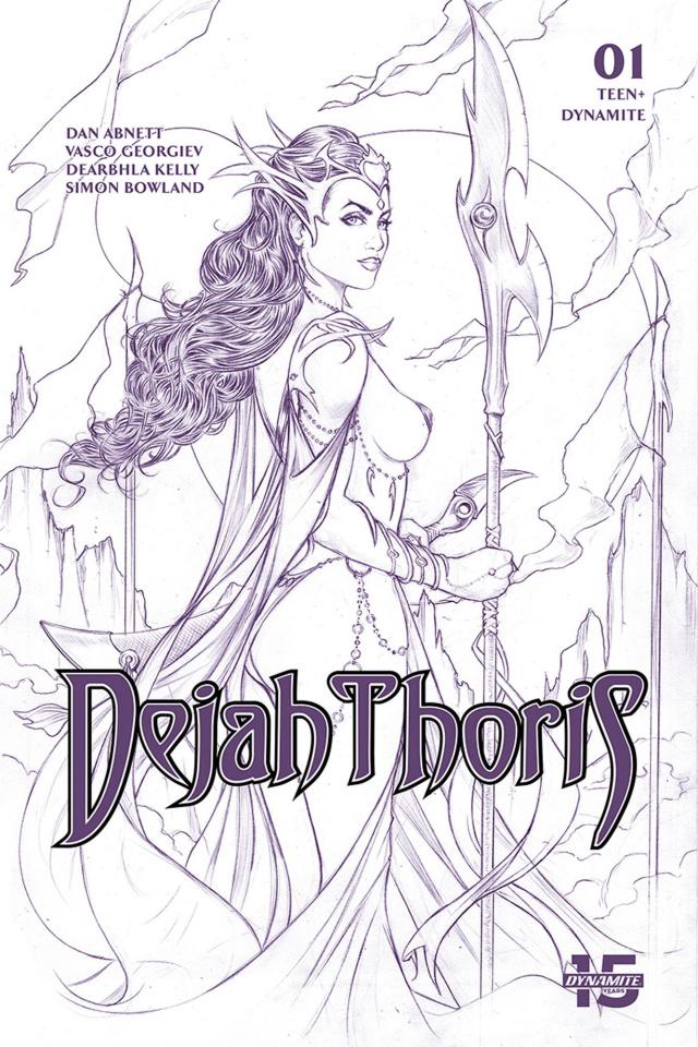 Dejah Thoris #1 (15 Copy Tucci Lines Tint Cover)