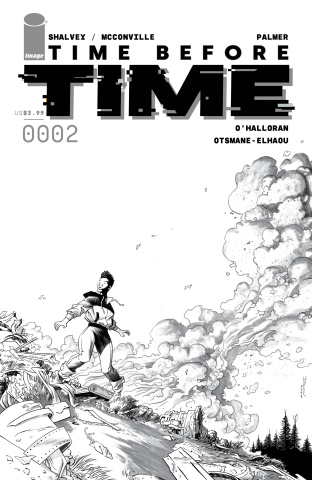 Time Before Time #2 (10 Copy Shalvey B&W Cover)
