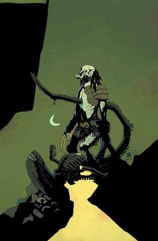 Alien vs. Predator: Fire and Stone #1 (Mignola Cover)