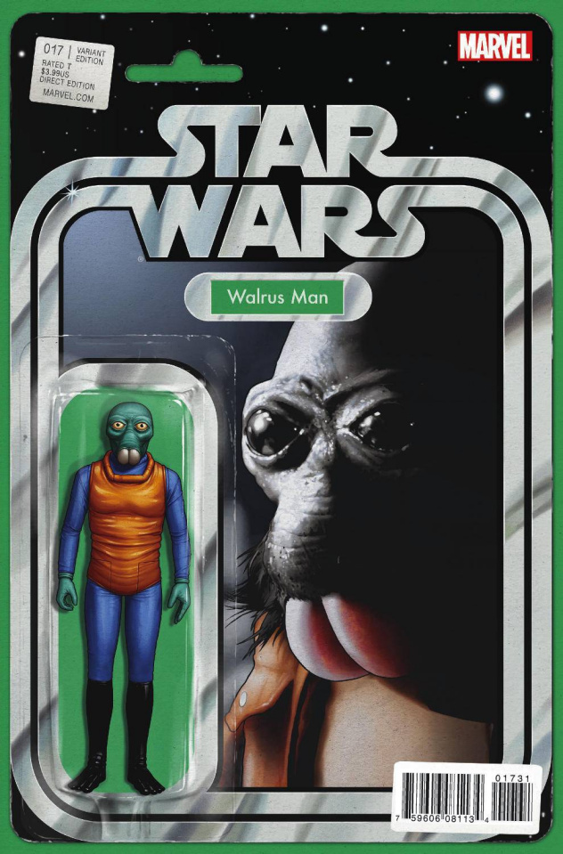 Star Wars #17 (Christopher Action Figure Cover)