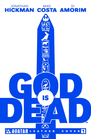 God Is Dead #1 (White Leather Cover)