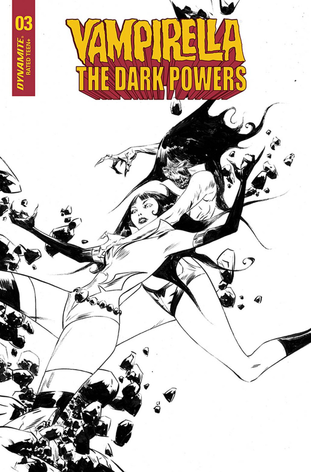 Vampirella: The Dark Powers #3 (40 Copy Lee B&W Cover)