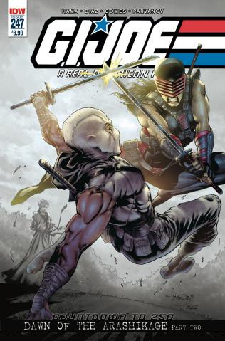G.I. Joe: A Real American Hero #247 (2nd Printing)