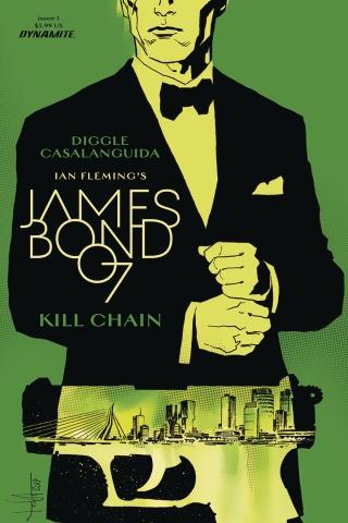 James Bond: Kill Chain #1 (Casalanguida Cover)