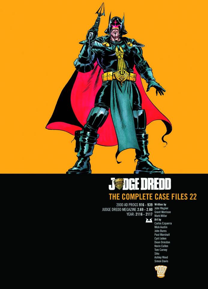 Judge Dredd: The Complete Case Files Vol. 22