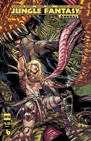 Jungle Fantasy Annual 2019 (Ripped Cover)
