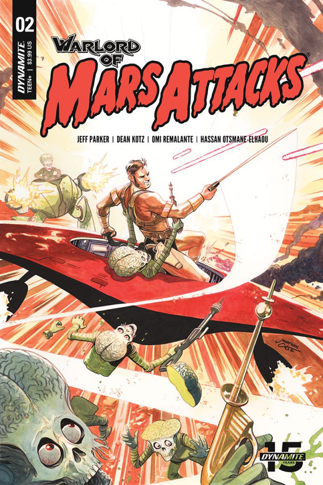 Warlord of Mars Attacks #2 (Case Cover)