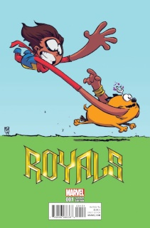 Royals #1 (Young Cover)