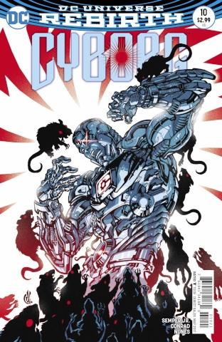 Cyborg #10 (Variant Cover)