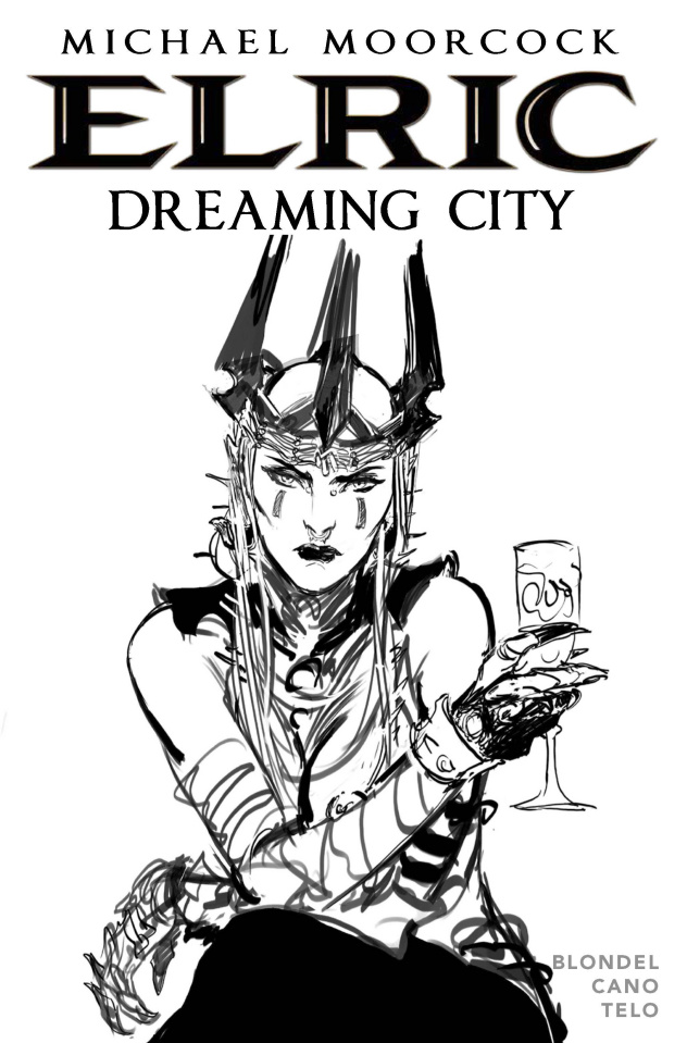 Elric: The Dreaming City #2 (Telo Cover)