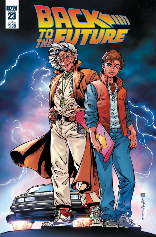 Back to the Future #23 (Sears Cover)