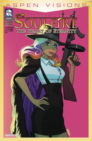 Aspen Visions: Soulfire - The Heart of Ice #1 (Gunnell Cover)