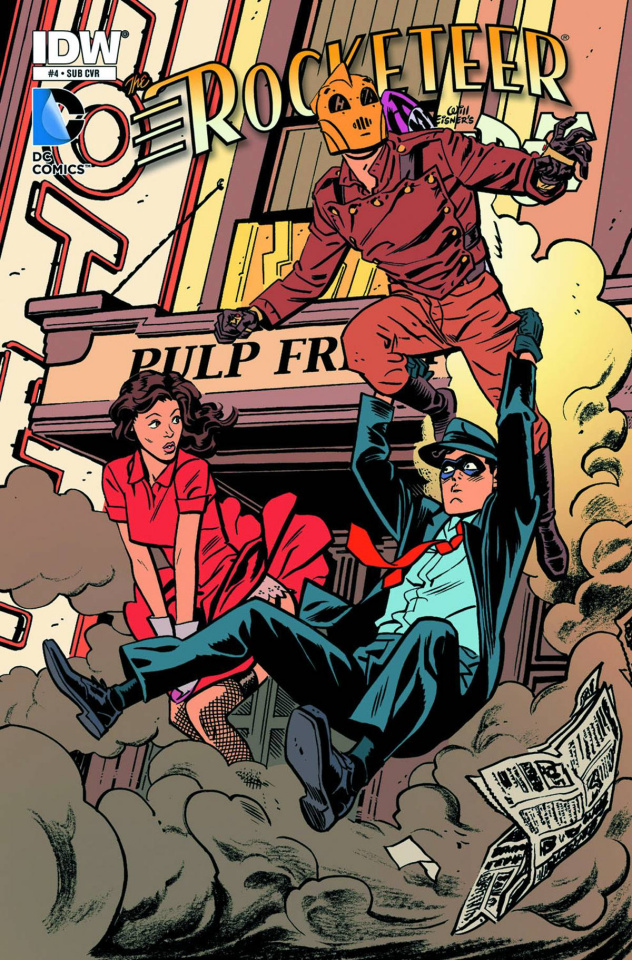 The Rocketeer/The Spirit: Pulp Friction #4