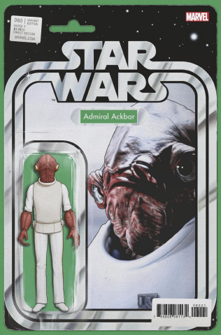 Star Wars #60 (Christopher Action Figure Cover)