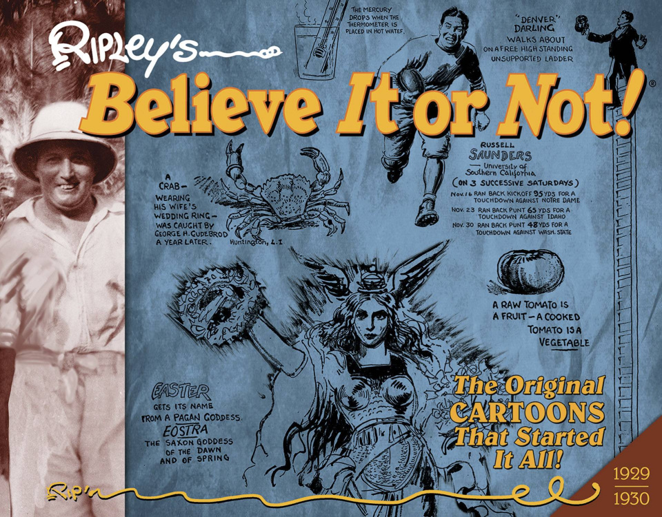 Ripley's Believe It or Not! Original Cartoons Vol. 1